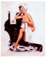 1182Pin-Up-Girl-with-Towel-Posters
