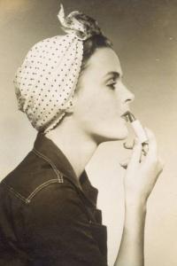 vintage+retro+hair+scarf+pinup+unique+tutorial