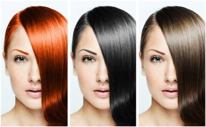 Find the right shade for hair
